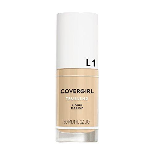 COVERGIRL TruBlend Liquid Makeup, L1 Ivory