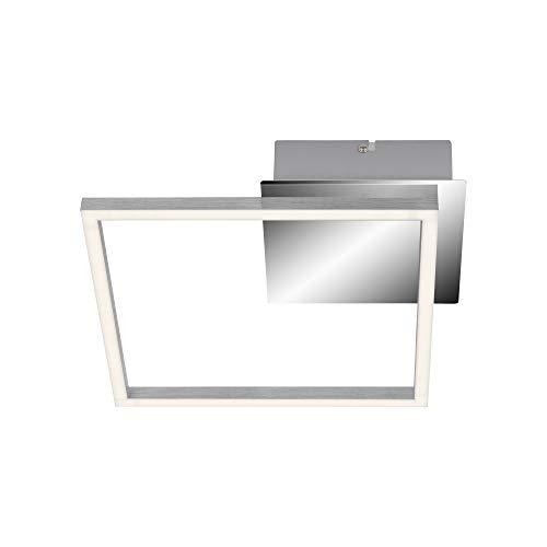 Briloner Leuchten LED, lámpara de Techo Regulable, con función de Memoria, 9,7...
