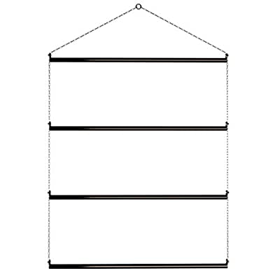 """Echo Beach Equestrian Blanket Rack 33"""" Suitable for Horse Blankets, Saddle Blankets, Pads & Towels. Extra Long for Western Saddle Blankets and Horse Blankets."""