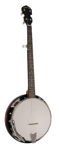 Gold Tone CC-50RP Cripple Creek Banjo with Resonator (Five String, Vintage Brown)