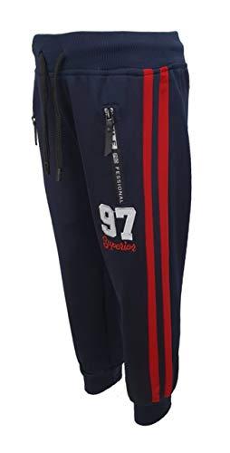 Sports Boy Bequeme Jogginghose, Freizeithose in Blau, Gr. 122, j730.8
