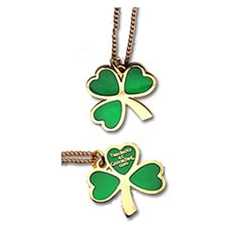 St. Patrick's Day Geocoin Pendant Halskette Schmuck
