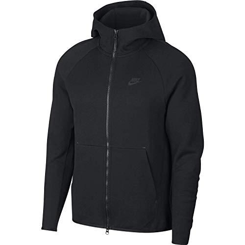 Nike Herren Hoodie Sportswear Tech Fleece, Black, XL, 928483-010