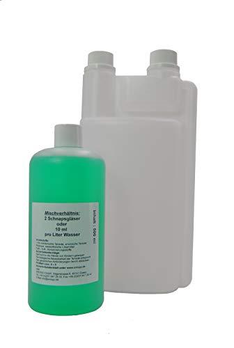 FSProducten set wisonderhoudsinstructies, hooggeconcentreerd, glansreiniging, glanzend, geschikt voor Vorwerk SP 520 530 Plus doseerfles