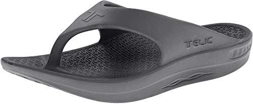 Telic Unisex Flip Flop, Dolphin Grey, 2XS (US Women's 6)