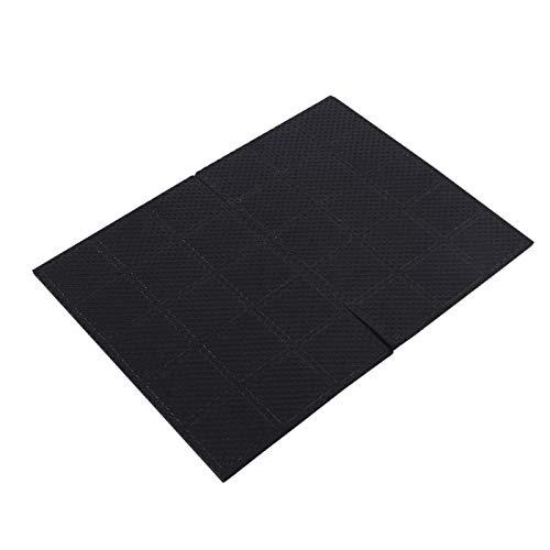 Almohadillas autoadhesivas de goma negra para muebles