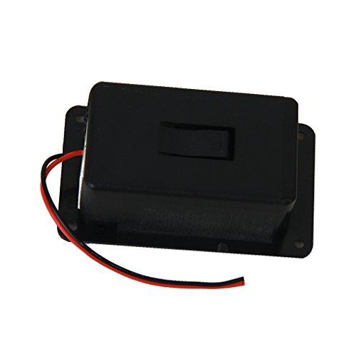 9V Batterie Kasten Abdeckung für Gitarre Bass Ukulele