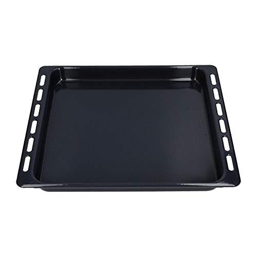 Backblech emailliert für Bauknecht Whirlpool Ignis Ikea 445 x 375 x 40 mm 481010764532