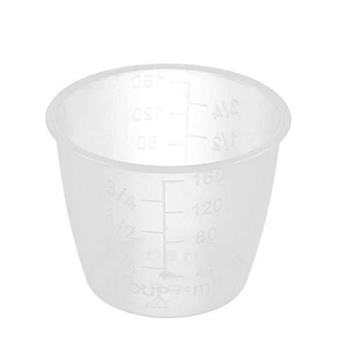 Tazas medidoras de arroz Tazas de repuesto para olla arrocera de cocina de plástico transparente Suministros de cocina