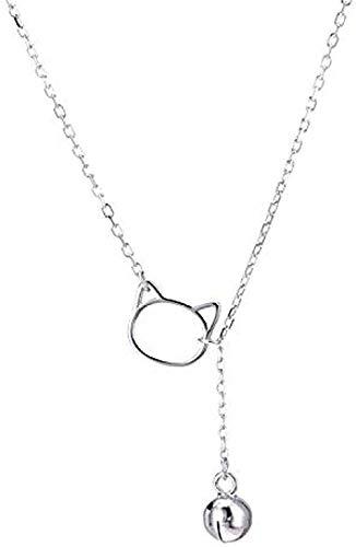 banbeitaotao Halskette Katzenglocke Halskette Damen