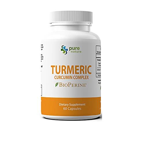 PureNature Turmeric Curcumin Extract Complex (1 Bottle)