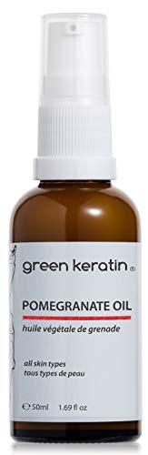Green Keratin Huile de Grenade, Certifié BIO