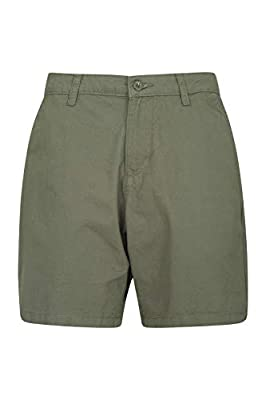 Mountain Warehouse Lakeside II Womens Shorts - Summer Short Pants Khaki 12