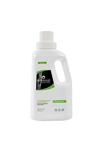 Fragrance Free All Natural Laundry Detergent for Athletic Clothes | NO SWEAT