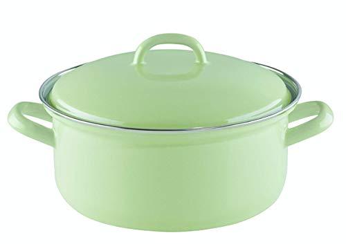 Riess Saucepan with Lid 16 cm 1 Litre Green