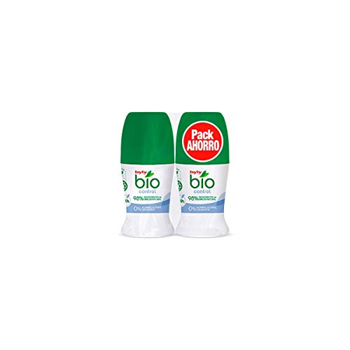 Byly Bio Natural 0% Control Deo Roll-On Lote 2 Pz 100 ml