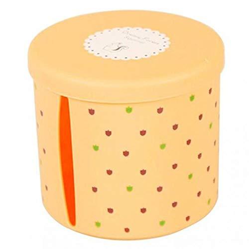 FTFSY Cajas de pañuelos de plástico Impermeables Redondas Soporte de Papel higiénico...