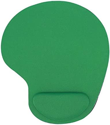 Keyboard Wrist Rest Pad Mouse Pad with Wrist Rest for Computer Laptop Notebook Keyboard Mouse Mat with Hand Rest Mice Pad Gaming Accessories Mouse Wrist Cushion Support (Color : Green)
