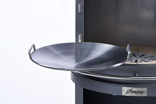 Firestar Steakpfanne Stahl für DN 700/800 Gartenkamin