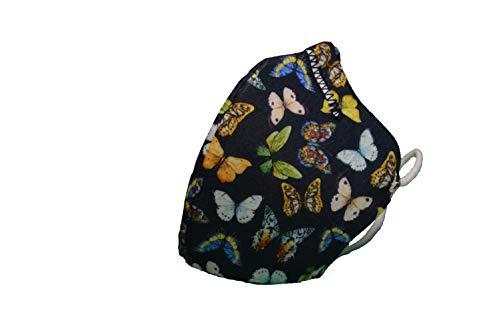 Maskin. Mascarilla higiénica reutilizable HOMOLOGADA UNE 0065. Pack 3 Uds. Diseñado y fabricado en España. (Adulto,  Fashion)