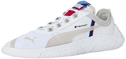 PUMA Unisex Bmw Mms Replicat-x Sneaker, White White-Blueprint 02, 44 EU