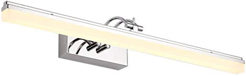 StiefelU LED Led-Spiegel vorderen Leuchte wasserdicht Anti Fog Badezimmer Badezimmer spiegel Lampe Wandleuchte Spiegelschrank led-wc, 14 W, 59 cm warmes Licht