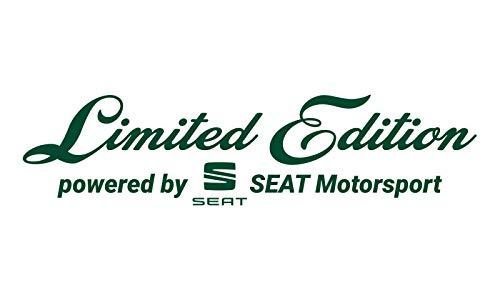 WRAP-SKIN Limited Edition passend für SEAT Motorsport Aufkleber WS-10-10-10001 661 Blattgrün Glanz