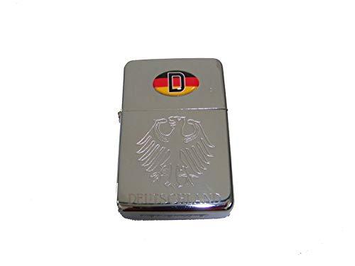 Benzinfeuerzeug Deutschland , Sturmfeuerzeug , Benzin - Feuerzeug , Tristar, NEU