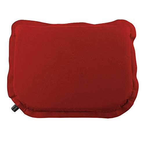 ALPIDEX Selbstaufblasendes Camping Sitzkissen 40 x 30 x 3,8 cm Stadion Kissen Outdoor Thermokissen Sitzmatte Ultraleicht, Farbe:Power Red