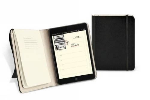 Moleskine Ipad Mini Tablet Slim Digital Cover With Volant Notebook