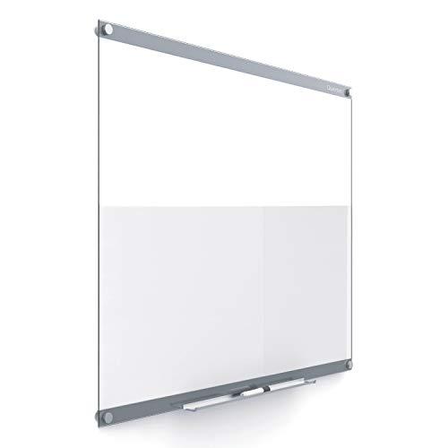 Quartet Glass Whiteboard, Magnetic Dry Erase Board, 4