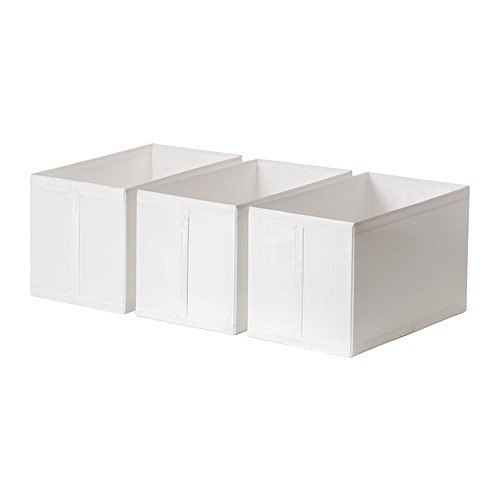 IKEA SKUBB - Box, weiß / 3 pack / 3-Pack - 31x55x33 cm