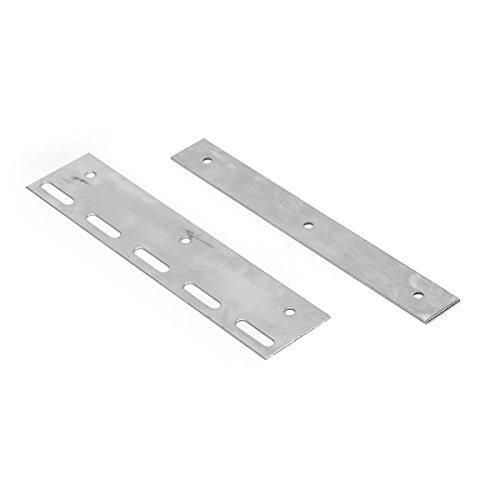 Befestigungsplatte für Lamellen Lamellenvorhang PVC-Streifenvorhang Länge 20cm