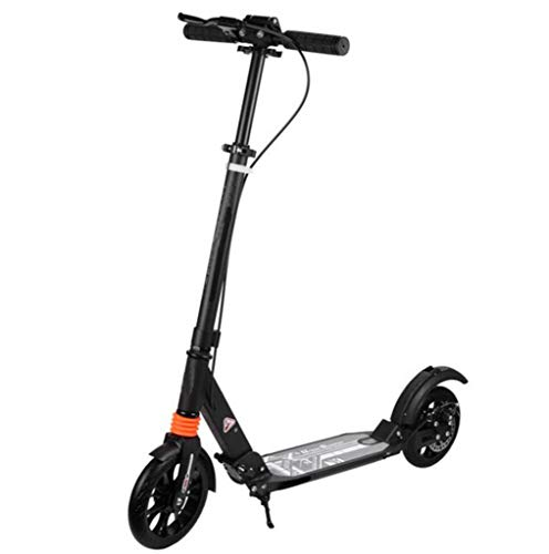 Buy Bargain JBHURF Two-Wheeled Scooter, Adult/Adolescent,Easy Folding Kicker, Durable Double Shock-A...