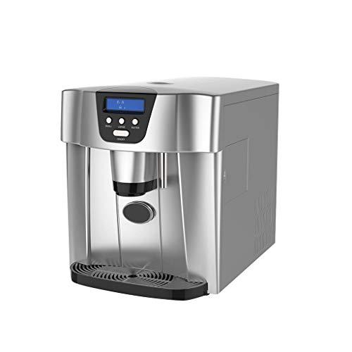 10 kg tafelijsmachine, volautomatische ijsmachine met Smart Home-bar, ronde kogel-ijsblokjes, draagbare ijsmachine van roestvrij staal met ijsverdeler