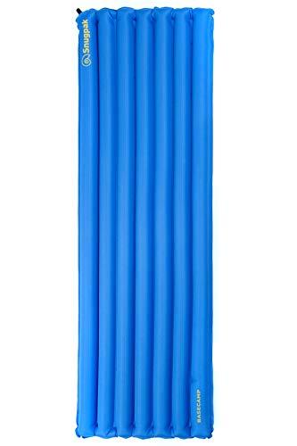 SnugPak Luftmatratze mit Fußpumpe Blau