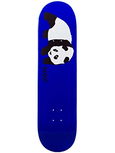Enjoi Skateboard Deck Original Panda Blue R7 8.1 Deck