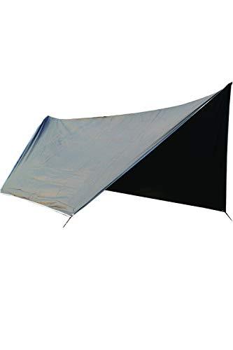 SMTD Plein Air Randonnée ou pour Voyager à l'extérieur Bâche Tente Anti-Pluie Pique-Nique Plage en Plein Air Tapis de Sol Camping Portable Ripstop Rain Tarp