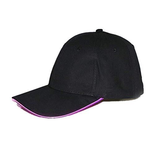 SHJIA Sombrero Luminoso Led, Gorra De Béisbol Que Brilla Intensamente Fresca En La Noche, Sombrero para El Sol Al Aire Libre