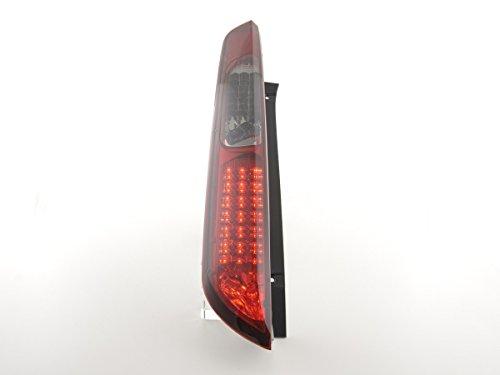 FK Automotive FKRLXLFO12013 LED Feux arrière, Noir