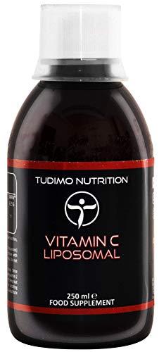 Liposomaal Vitamine C | 250ml Vloeibaar Ascorbinezuur ingekapseld in Micro Liposomen van Zonnebloem Lecithine | Vegan & Hoge Absorptie | Soja-vrij | Maltitol vrij | Alcoholvrij | GGO-vrij