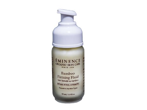 Eminence Organic Skincare Firming Fluid Ounce, Bamboo, 1.9 Fl Oz
