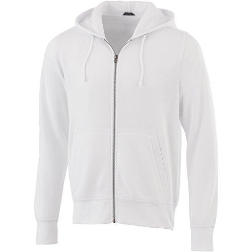 ELEVATE Sweat à capuche Cypress - Homme (M) (Blanc)