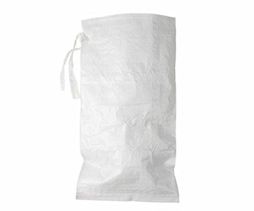 "1000 Pack - 14"" x 26"" Empty White Poly Sandbags"