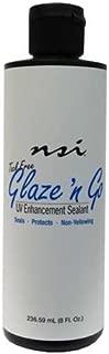 NSI Glaze 'n Go - Tack-Free UV Gel Sealant - 236.59ml / 8oz