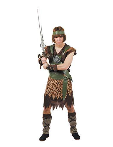 DISBACANAL Disfraz de Conan el Bárbaro Hombre - -, XL