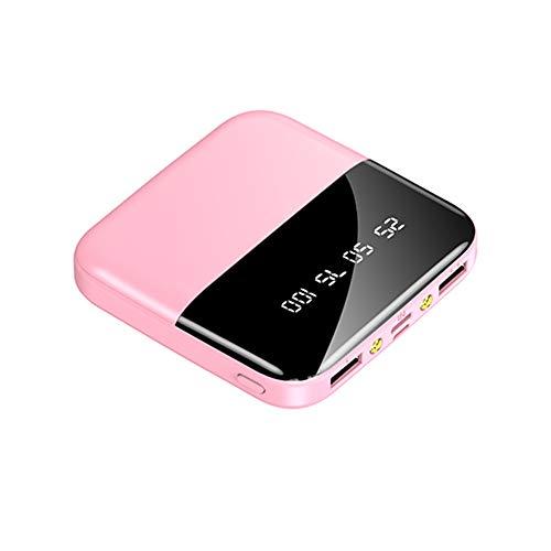 duoying Banco de energía, puertos USB de alta velocidad, batería portátil de gran capacidad al aire libre, batería de carga inalámbrica para iPhone, Samsung Galaxy y más