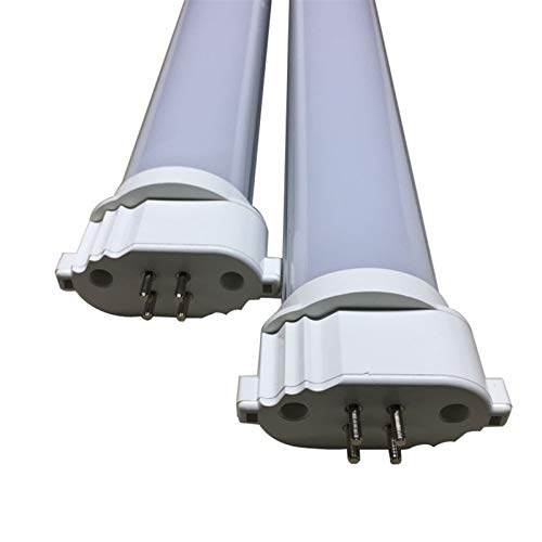 Luces led De Tipo H Lámpara LED Enchufe 2PCS 2G11LED 18W Luz Enchufe De La Lámpara Transformación De Energía EMC Japón GY10Q 2G11 (Size : Natural white 4000K)