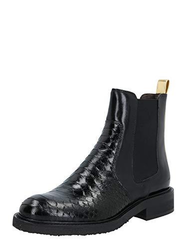 Billi Bi Damen Chelsea Boots Polo schwarz 37