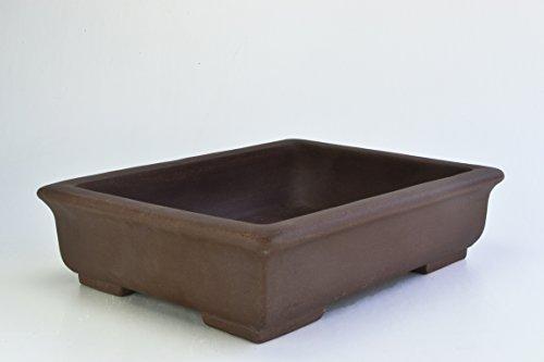 Unglazed 17' Rectangular Yixing Purple Clay Ceramic Bonsai Pot(PA5-17)